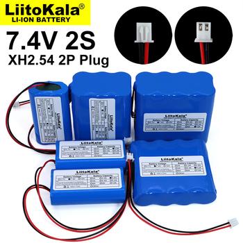 7 4V 18650 akumulator litowy 2S 2 6ah 3ah 6ah 9ah wędkowanie LED światła głośnik Bluetooth 8 4V awaryjne DIY baterie z PCB tanie i dobre opinie liitokala Li-ion 2 6ah 3ah 5 2ah 6ah 9ah 12ah CN (pochodzenie) Baterie Tylko Pakiet 1