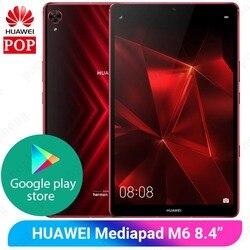 Игровой планшет Huawei Mediapad M6 Pro, 8,4 дюйма, Восьмиядерный, 6 ГБ, 128 ГБ, Android 9,0, графический процессор Turbo 3,0, игровой планшетный ПК huawei Google Play