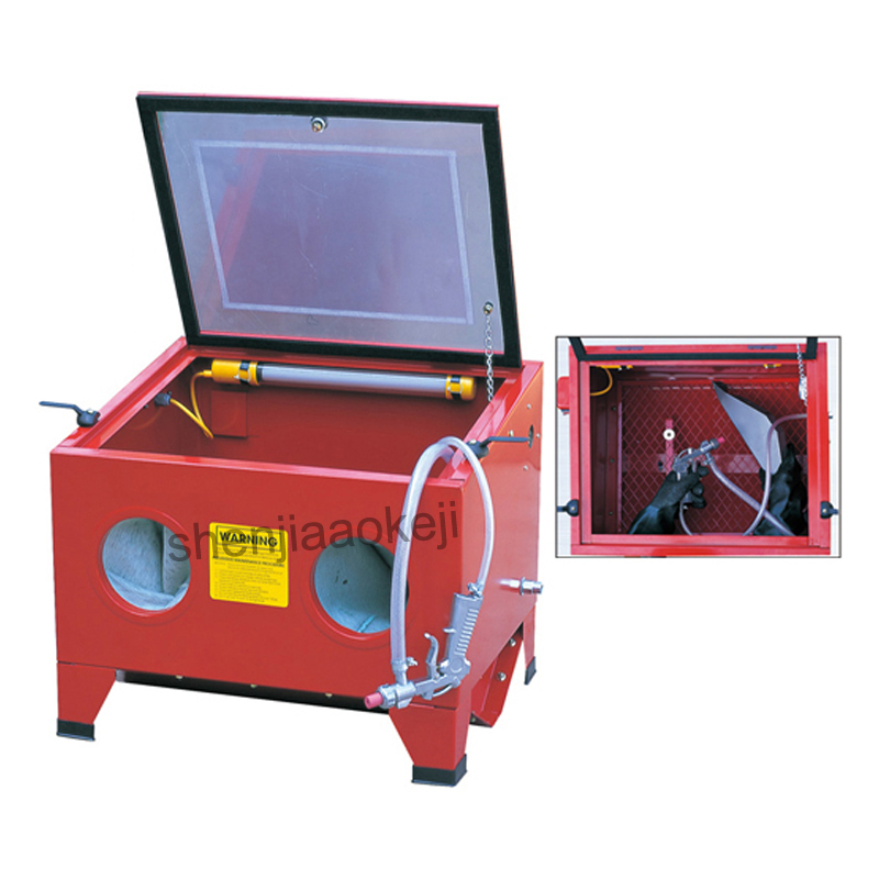 SBC90 Jewelry Sandblasting Machine Derusting Degreasing Descaling Sandblast Equipment Dental Tool Portable Sand Blasting Machine
