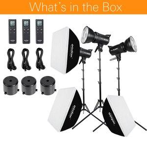 Image 2 - Godox 3x SL 60W White Version Studio LED Continuous Photo Video Light + 3x 1.8m Light Stand + 3x 60x90cm Softbox LED Light Kit