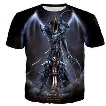 Diablo 3 Reaper of Soul t shirt men/women 3D printed t-shirts casual Harajuku style tshirt streetwear tops dropshipping110/6XL