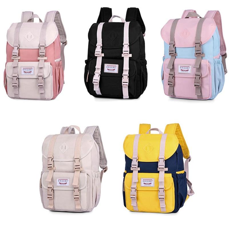 15.6inch School Backpack Women Shoulder Bag Men Casual Schoolbag For Teenager Girls Laptop Backpack Fashion Mochila High Quality