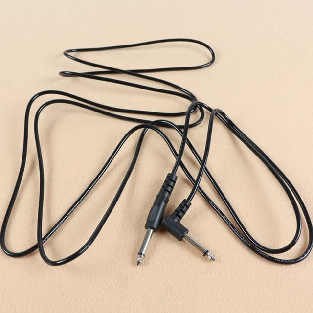 Guitare électrique ampli câble plomb Instrument Audio 6.35mm 1/4