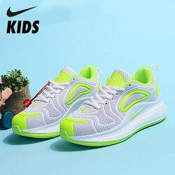 Nike Air Max 720 Kinder Schuhe Original Neue Ankunft Kinder Laufschuhe Bequeme Sport Luftpolster Turnschuhe # AO2924-600