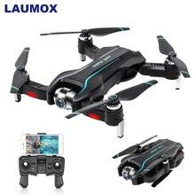 LAUMOX S17 Радиоуправляемый Дрон с 4K регулируемой широкоугольной HD камерой оптический поток Дрон складной Квадрокоптер вертолет Дрон VS E58 SG106