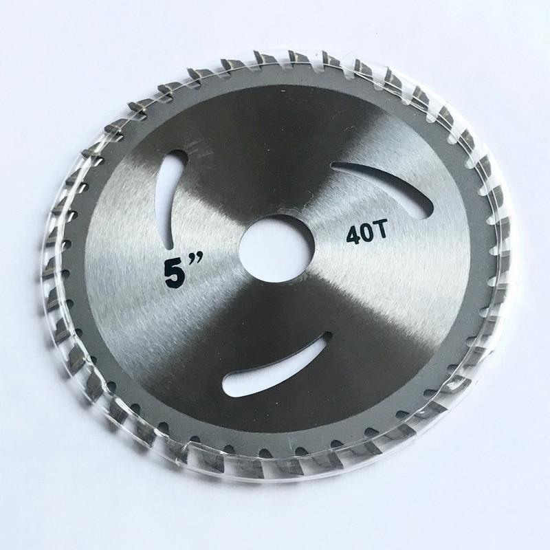 Nemokamas 1PC 125 * 22,23 * 30 / 40T tct pjūklo pjovimo disko - Ašmenys pjūklams - Nuotrauka 5
