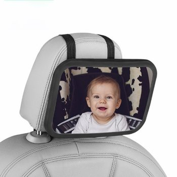 Car Safety Seat Viewing Mirror Adjustable Reverse Mounting Observation For Baby Rearview