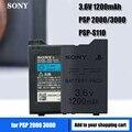Аккумулятор 1200mAh для Sony PSP 2000 PSP 3000 PSP2000 PSP3000 PlayStation портативные аккумуляторные батареи 3,6 V Power Bateria
