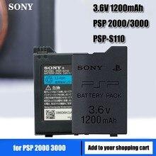 1200mAh Bateria para Sony PSP 2000 PSP 3000 PSP2000 PSP3000 PlayStation Portátil Recarregável Baterias 3.6V Bateria de Energia