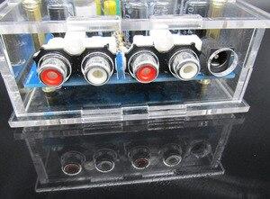 Image 5 - Audiophile 6J1 צינור מגבר אוזניות כוח מגבר pre amp אוזניות Amp 6J1 שסתום Preamp חיץ מרה Amplifie DiY קיט