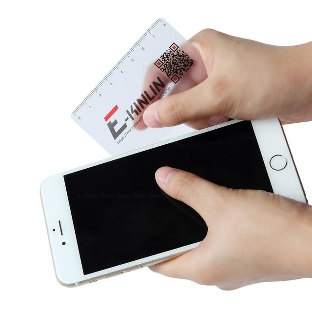 Ruler Plastic Open Mobile Phone LCD Screen Disassembly Teardown Repair Pry Opening Tool Scraper Measuring Business Tools Card 3