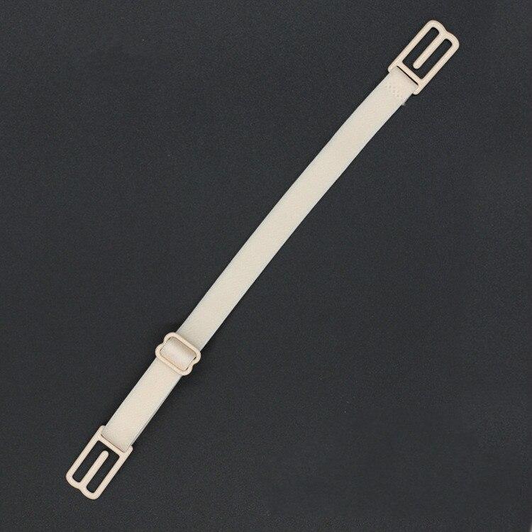 1 шт., двойные плечевые ремни, нескользящие ремни с пряжкой, бретельки для бюстгальтера, Нескользящие задние ремни для бюстгальтера, регулируемый держатель, 5 цветов - Цвет: Skin