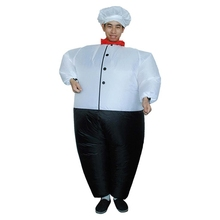 Outfit Suits Costume Sumo Inflatable Party-Dress Wrestler Blow-Up Cosplay Halloween Chef