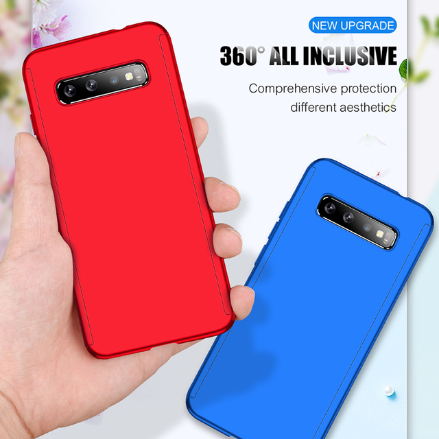 360 Full Body Protective Case For Samsung Galaxy S20 Ultra S10 Lite S10E S9 S8 PIus A20E A21S A31 A30S A51 A71 Cover With Glass 2