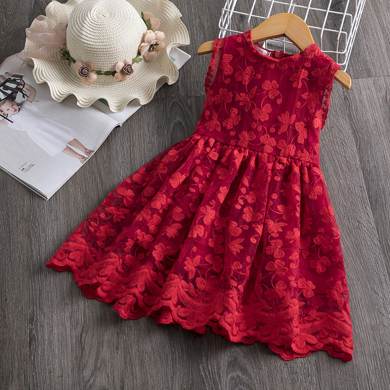 H3e3bf205ffd1485594c72404e0cb9e6ci Girls Dresses 2019 Fashion Girl Dress Lace Floral Design Baby Girls Dress Kids Dresses For Girls Casual Wear Children Clothing