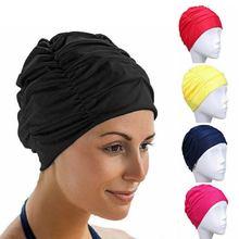 1 шт шапка для плавания свободного размера эластичный нейлоновый