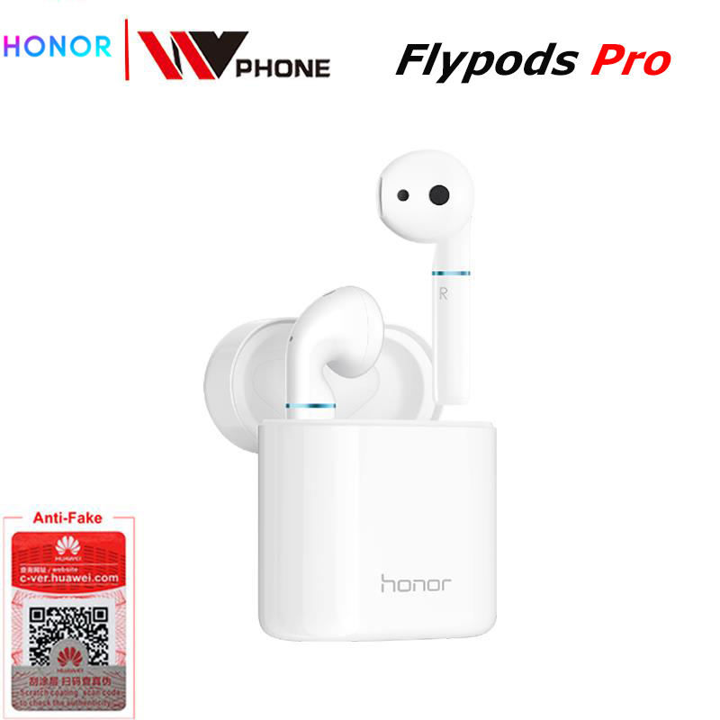 Honor Flypods/flypods Pro Wireless Touch Waterproof Dynamic Earphone Tap Control Wireless Charge Bluetooth 5.0