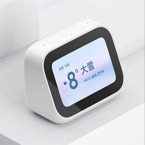 Image 4 - Xiaomi Mi AI Video kapı zili dokunmatik ekran Bluetooth 5.0 hoparlör dijital ekran çalar saat WiFi akıllı bağlantı hoparlör