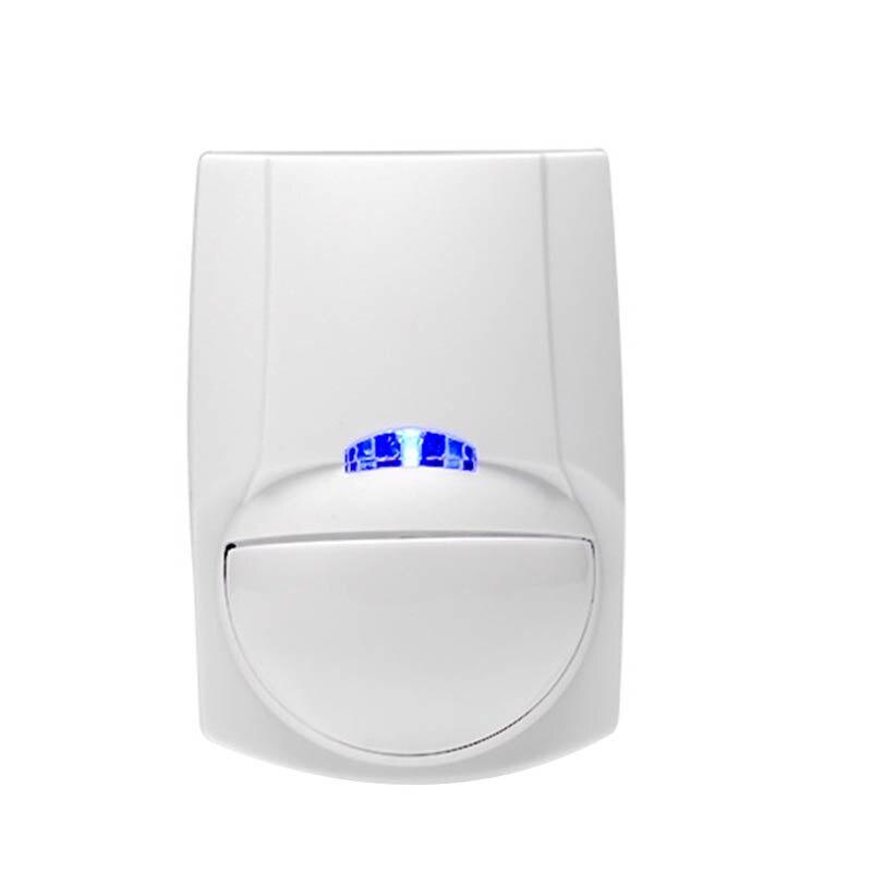 FFYY-Wireless Mini Safety PIR Motion Sensor Alarm Alert Detector Home Alarm System Built-In Battery With Magnetic Swivel Base