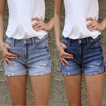Женские джинсовые шорты Горячая Распродажа рваные сексуальные
