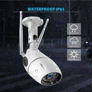 Image 4 - HD 1080P 5MP IP Camera WIFI Wireless ONVIF CCTV Bullet Network Camera Outdoor Two Way Audio Micro SD Card Slot Max 64G P2P iCsee