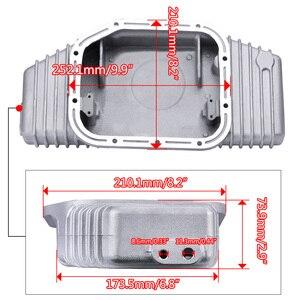 Image 4 - PQY   FOR S13 S14 S15 SR20DET SR20 180SX 200SX 240SX SILVIA SIL 80 TURBO ALUMINUM OIL PAN  (Fits: Nissan) PQY OP49