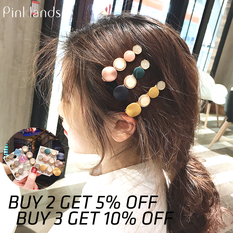 Acrylic Hair Clips For Women Girl Macaron Color Barrettes Korean Style Hairpins Alloy BB Hairpins Handmade INS Hair Accessories