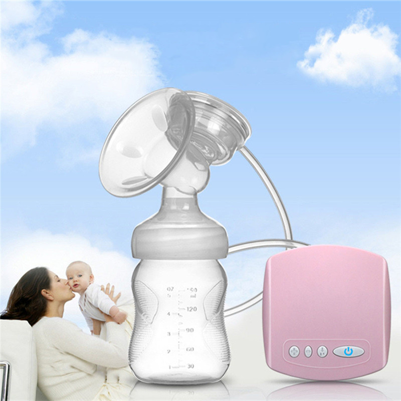 2019 Intelligent Automatic USB Electric Breast Pumps BPA Free Nipple Suction Milk Pump Breast Feeding Breast Pump Christmas Gift