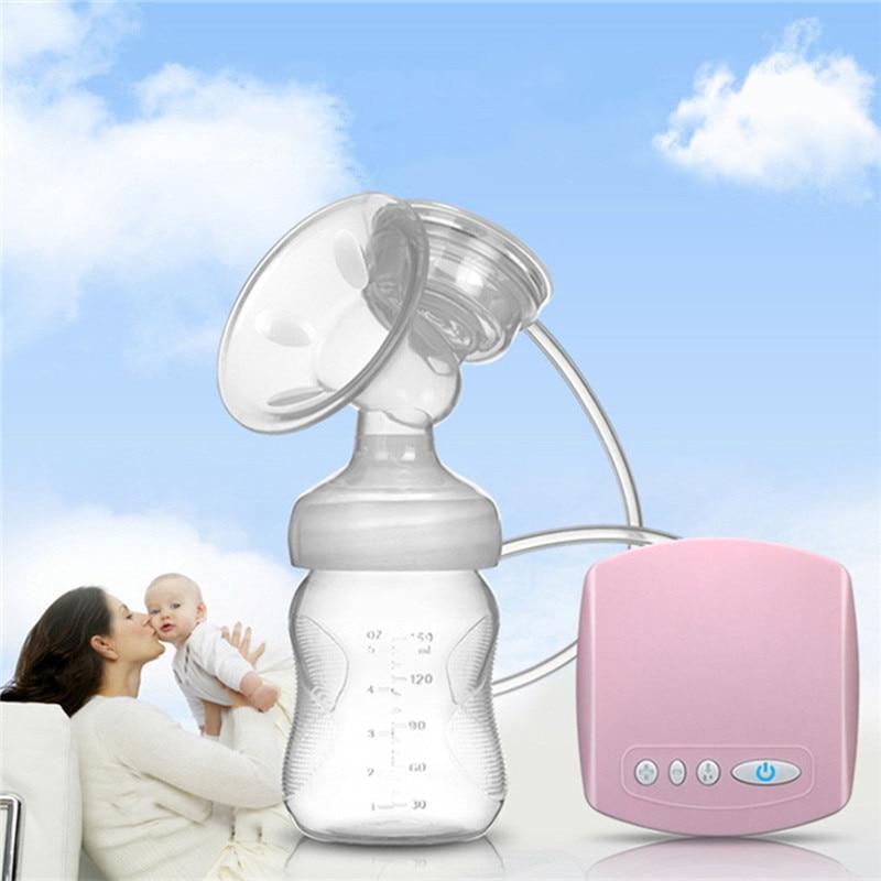 2019 Intelligent Automatic USB Electric Breast Pumps BPA Free Nipple Suction Milk Pump Breast Feeding Breast Pump Christmas Gift