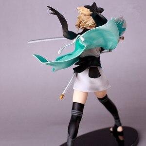 Image 5 - 21cm Anime Action Figure Fate Grand Order KOHA ACE Okita Souji Sakura Saber Fighting Ver PVC Model Collection Kids Toy Brand New