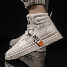 High-top Men&wome Ankle Canvas Couple Breathable Boots Fashi