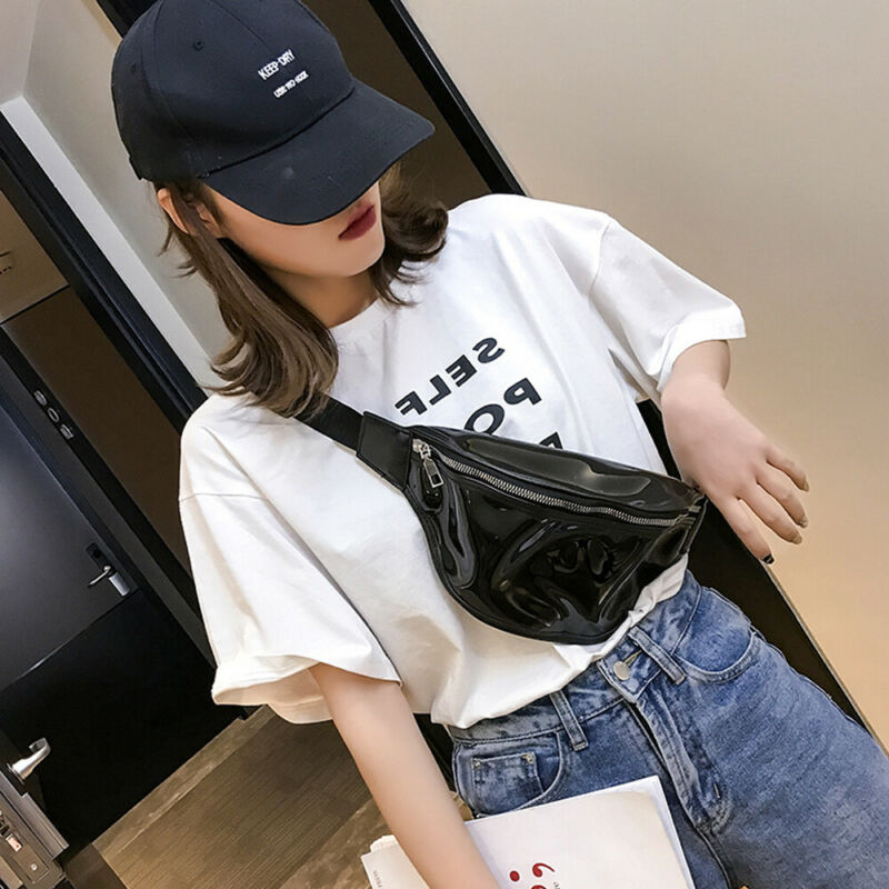 Waist Bags Female Belt Fashion Waterproof Chest Handbag Men Transparent Fanny Pack Lady Waist Pack Belly Bags For Women Purse