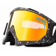 Pit viper брендовые лыжные очки для катания на сноуборде двухслойные