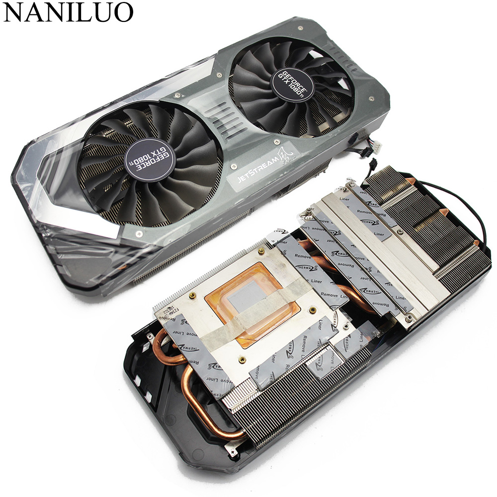GAA8S2U FD10015H12S 12V 0.45A 4Pin GTX 1080 Ti Cooler Fan For PALIT GeForce GTX 1080Ti Super JetStream Video Card Radiator