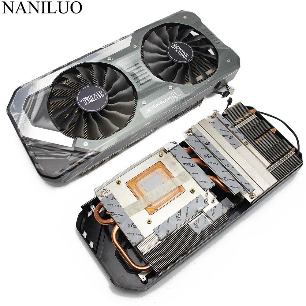 GAA8S2U FD10015H12S 12V 0.45A 4Pin GTX 1080 Ti Cooler Fan For PALIT GeForce GTX 1080Ti Super JetStream Video Card Radiator