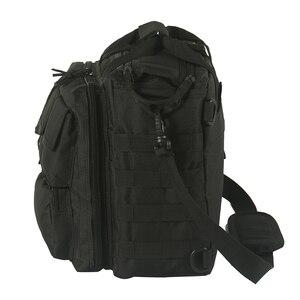 Image 5 - Multifonctionnel armée ventilateur grande capacité hommes sac de messager en plein air bandoulière sac à bandoulière tactique ordinateur sac à main Camping