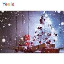 Yeele Christmas Photocall Bokeh Light Pine Gifts Photography Backdrops Personalized Photographic Backgrounds For Photo Studio yeele christmas photocall bokeh lights glitter pine photography backdrops personalized photographic backgrounds for photo studio