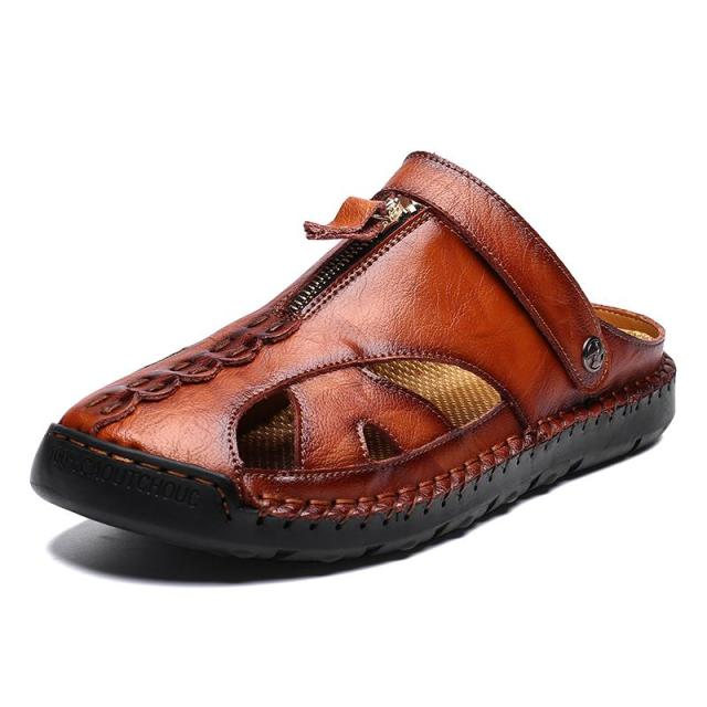 High Quality Genuine Leather Men's Sandals