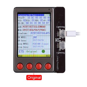 Image 4 - كابل بيانات اختبار جهاز اختبار بطارية ل فون XR XS XS ماكس X 8 8P 7 7P 6 6S 5 4S لباد الروبوت بطارية مدقق مفتاح واضح