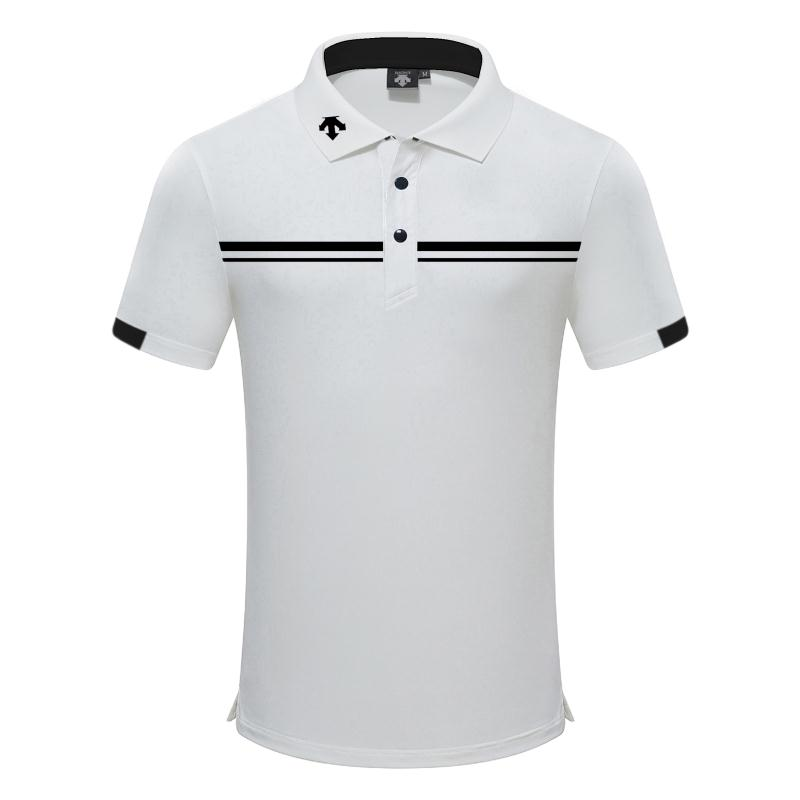 SwirLing DESCENTE New Golf Clothing Men's Summer Golf T-Shirt Golf Breathable Quick-Drying Sports T-Shirt Free Shipping
