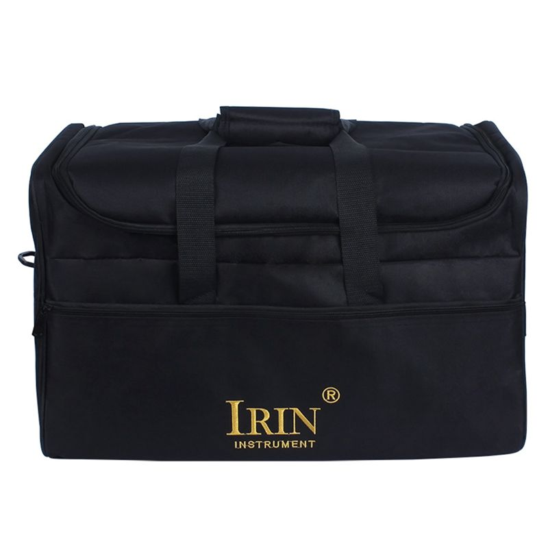 IRIN Standard Adult Cajon Box Drum Bag Backpack Case 600D Cloth 5MM Cotton Padding With Carry Handle Shoulder Strap