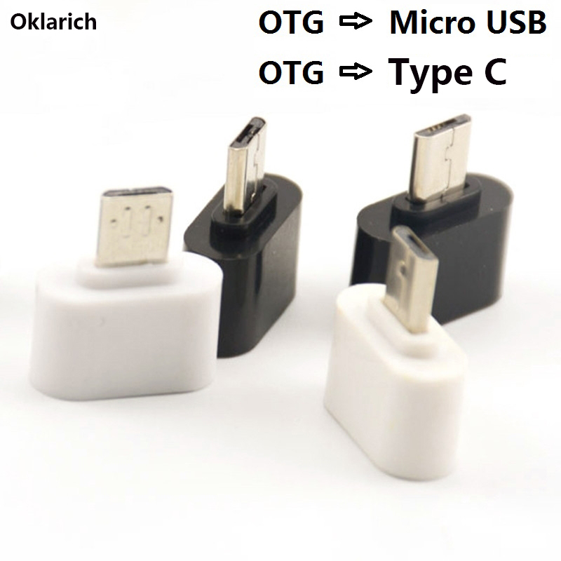 OTG Adapter Micro Type-C USB Cables OTG USB Cable Micro USB To USB For Huawei Samsung LG Sony Xiaomi Android Phone Flash Drive