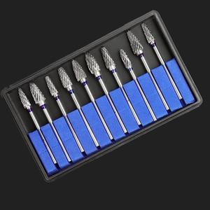 Image 4 - Fraises dentaires en acier et en carbure de tungstène, 2 boîtes/20 pièces, polisseuses de dentisterie 2.35, en Nitrate 2.35mm, laboratoire dentaire