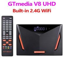 GTmedia V8 UHD DVB S2 T2 Combo Satellite Receiver Unterstützung 4K Youtube Cline Newcam auto biss Gebaut-in WIFI 2020 Neue TV Rezeptor