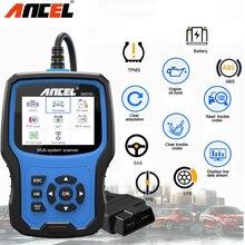 Автомобильный сканер Ancel BM700 OBD2, система полной диагностики автомобиля