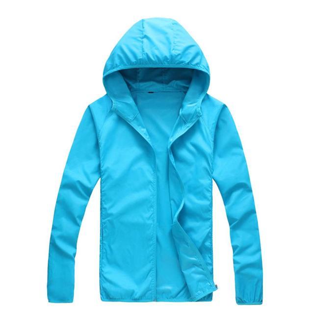 Quick Dry Skin Coat Sunscreen Waterproof UV Women thin Army Outwear Ultra-Light Windbreake Jacket Women Men Windproof Coat Jacke 5