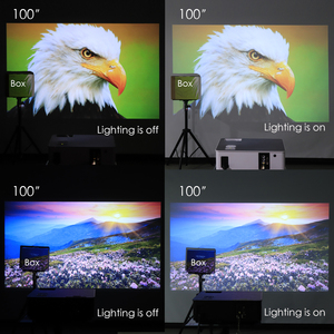 Image 5 - Poner Saund M5 LED Projector Full HD 1080P 3D Android 6.0 Projetor 4500 Lumens Projektor HDMI USB WiFi Proyector Bluetooth