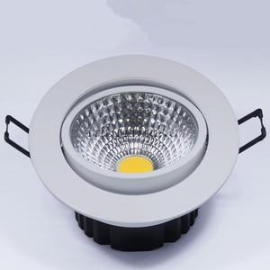 Image 4 - السوبر مشرق راحة LED عكس الضوء مصباح موجه 6 واط 9 واط 12 واط 15 واط LED بقعة ضوء LED الديكور مصباح السقف التيار المتناوب 110 فولت 220 فولت