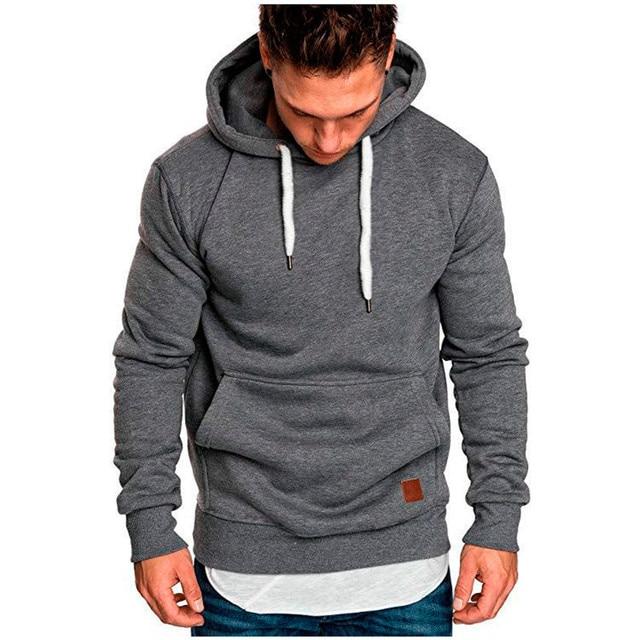 Covrlge Mens Sweatshirt Long Sleeve Autumn   4