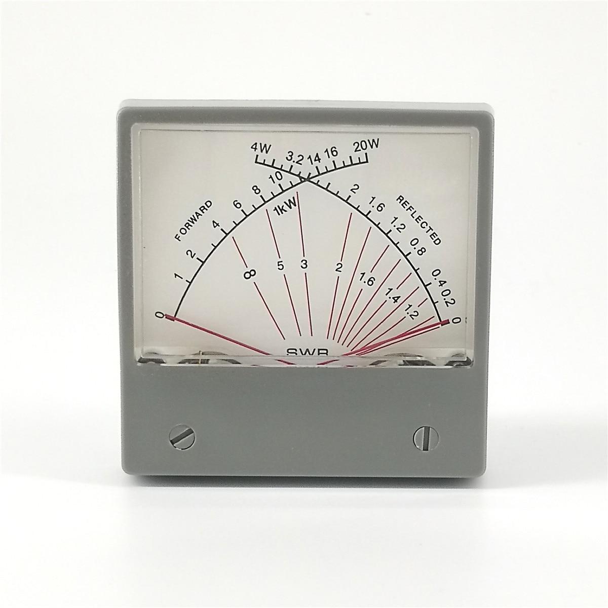Dual-Meter Radio Ratio-Forwad-Swr-Meter Wave Stationary SZ-70-1 Reflected HF 4W Forward
